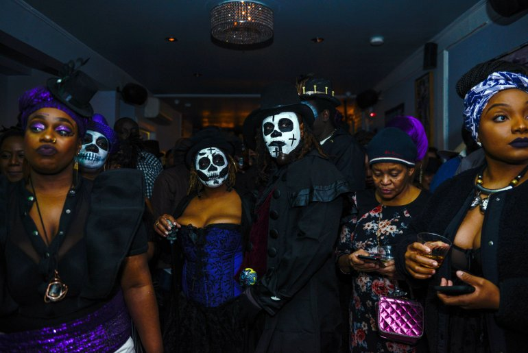 Haiti day of the dead fet gede