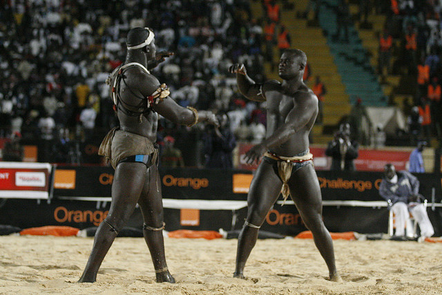 Senegal wrestling