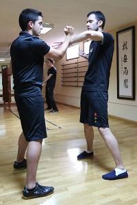 Practicar Wing Chun KungFu