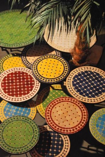 De Mooiste Unieke Marokkaanse MOZAIEKTAFELS en Fonteinen