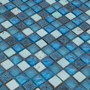 Mozaiek Haven Blauw