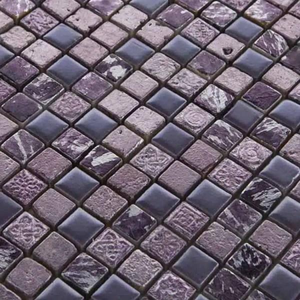 Mozaiek Lila Mix