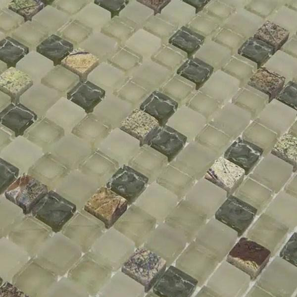 Mozaiek Moeras Groen