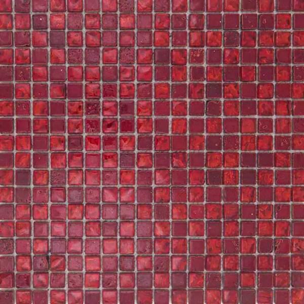 Mozaiek Rood Kristal