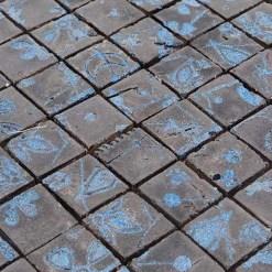 Mozaiek Mat Gepolijst Brons