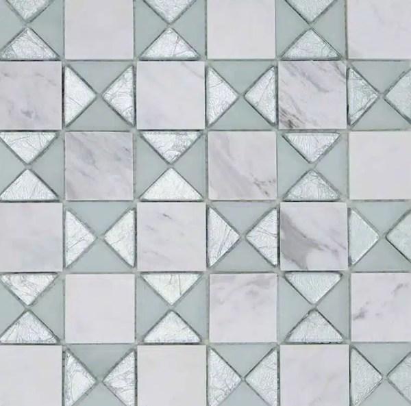 Mozaiek Hydra Zilver