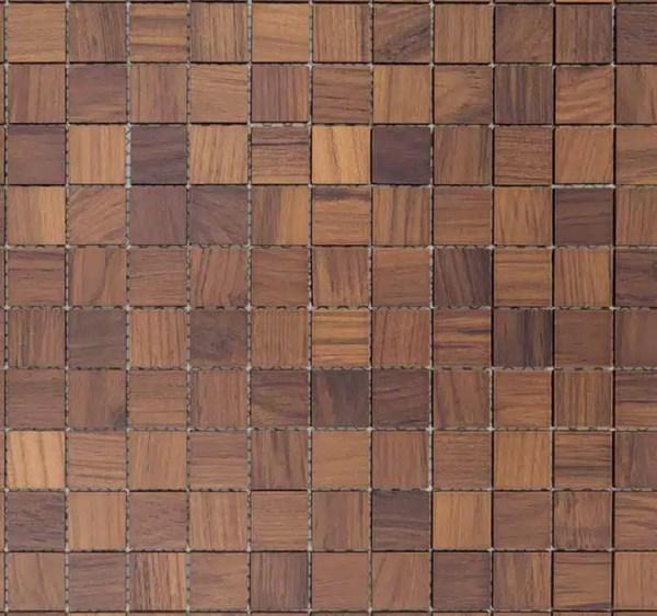 Mozaiek Square Teak