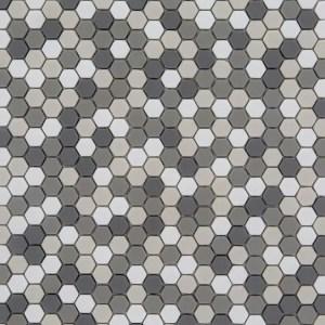 Mozaiek Zeshoek Tweed