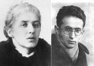 Fotografia de l'autora, Lidia Chukóvskaia, i el seu marit, Matvéi Bonstein, físic teòric jueu, pioner en el desenvolupament de les teories quàntiques i de gravitació i autor de diversos llibres infantils de divulgació científica, que va ser executat per règim stalinista l'any 1938.