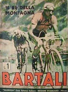 Bartali, llegenda del ciclisme de muntanya.