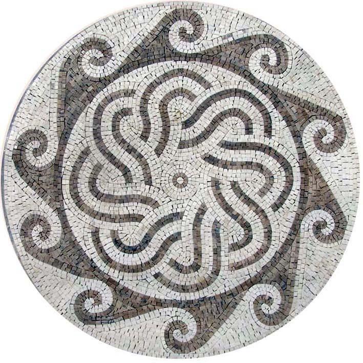 roman mosaic accent tile gaya