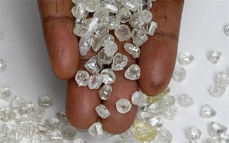 Angolan diamonds