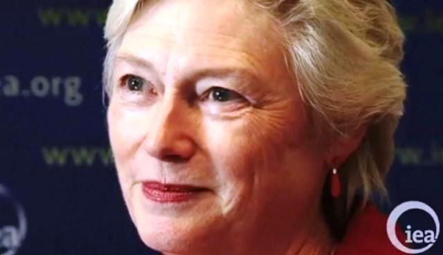 IEA Executive Director, Maria Van Hoeven
