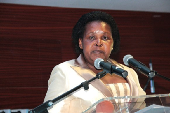 Mozambique Mineral Resources minister, Esperança Bias