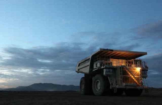 Mining off road truck