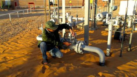 Somalian Oil camps