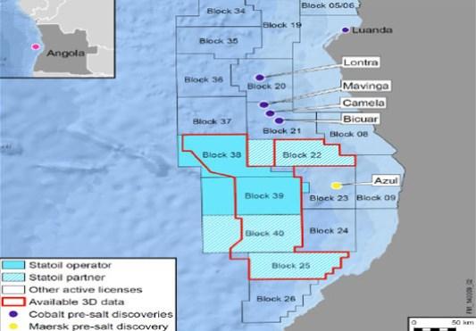 Statoil Angola Blocks