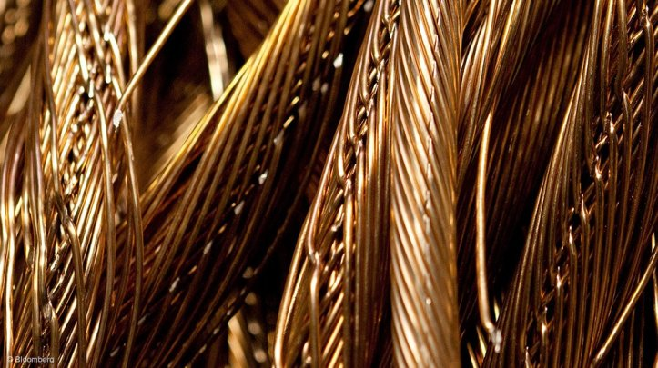 Sample of copper wires