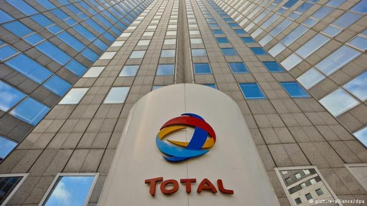 Total's LNG sales down 2%