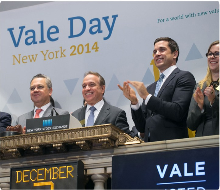 """""""We have successfully prepared the basis for a sustainable company,"""" said Murilo Ferreira to investors during Vale Day event in New York."""
