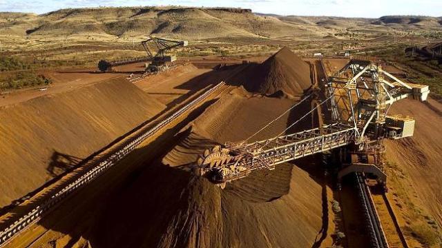 Iron ore terminal