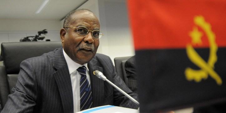 Ministro do Petroleo Angola, Jose Maria Botelho de Vasconcelos