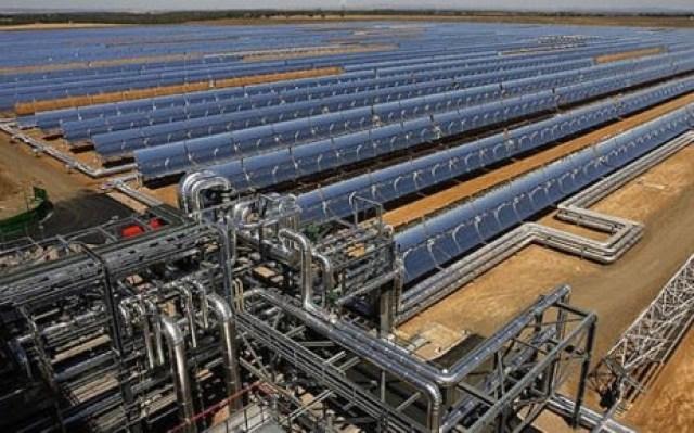 KaXu Solar One CSP plant in Pofadder