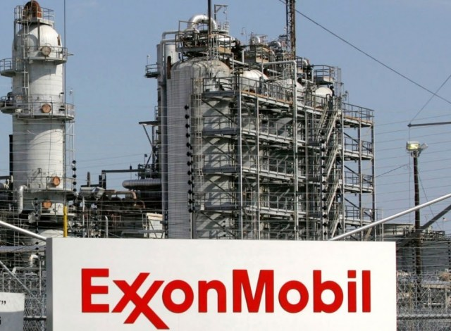 A view of the Exxon Mobil refinery in Baytown, Texas in this file photo from September 15, 2008. REUTERS/Jessica Rinaldi