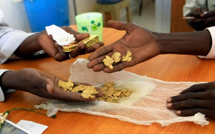 Gold mining rush in South Sudan