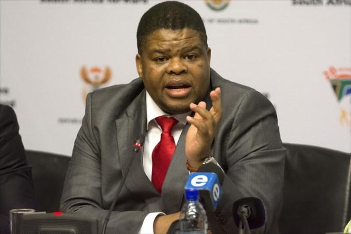 Energy Minister David Mahlobo