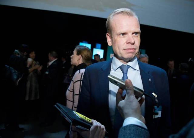 Svein Tore Holsether, Yara_s CEO