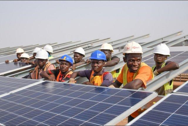 Zagtouli solar power station