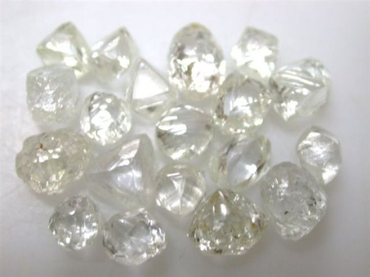 Diamon - rough diamonds