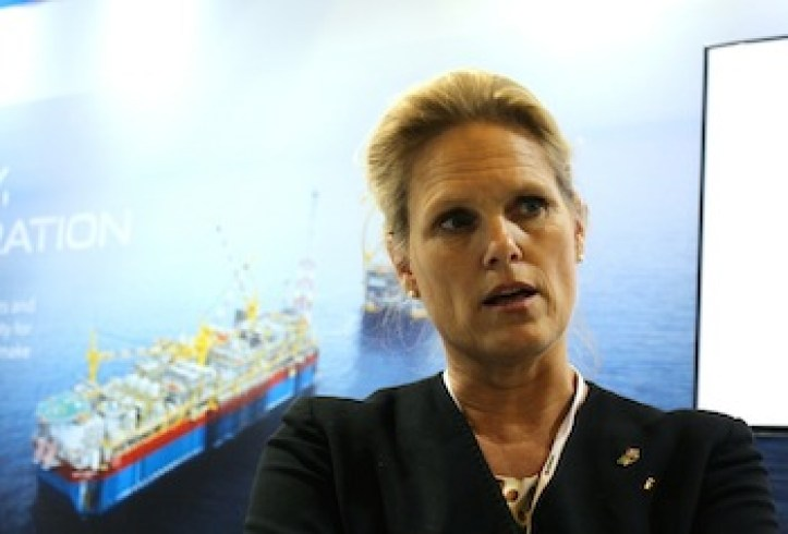 Norway´s Deputy Minister for Petroleum and Energy, Ingvil Smines Tybring- Gjedde is in Rio for the Rio Oil and Gas expo.