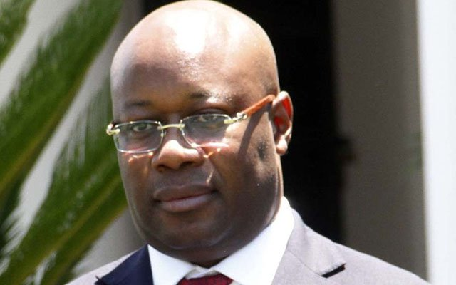 Zimbabwe's Minister of Mines and Mining Development Winston Chitando