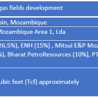 Mozambique Oil & Gas: Rovuma Offshore Area 1 Project - Overview