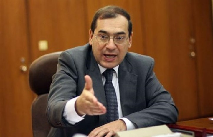 Egyptian Minister of Petroleum Tarek el Molla