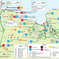 Africa Oil & Gas: Libya's Map of conflict over oil fields control