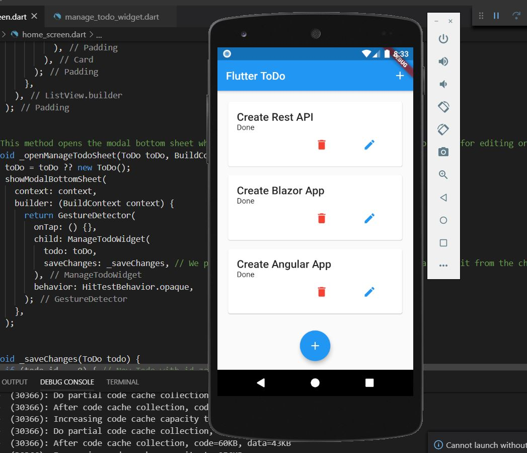 To Do Rest API Using Asp.net Core – Flutter Client (Part 5)