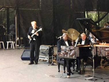 Oscar Peterson em  Concerto no Parque Ibirapuera 1987