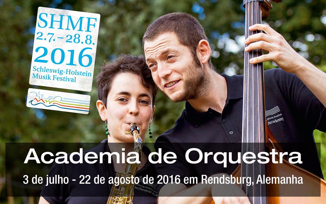 Inscrições Abertas para Audições Academia de Orquestra