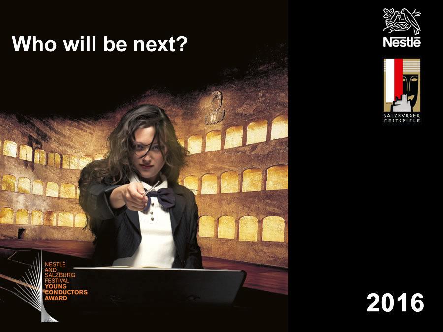 Nestlé And Salzburg Festival Young Conductors Award