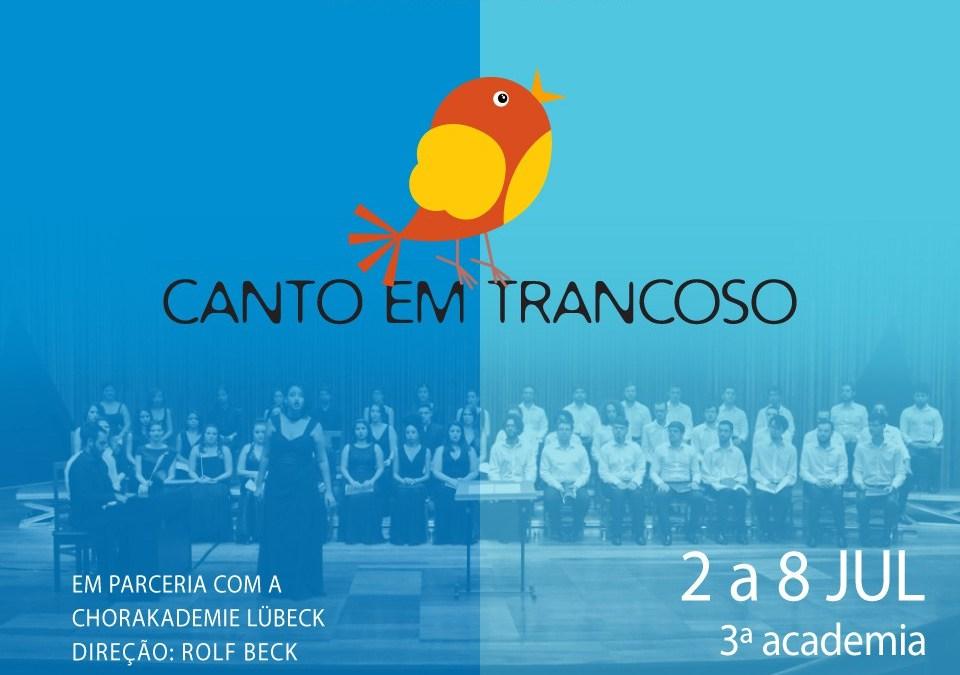 Canto em Trancoso 2017 terá a participação de 48 bolsistas selecionados