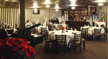 Beechwold Tavern Room with Holiday Deco