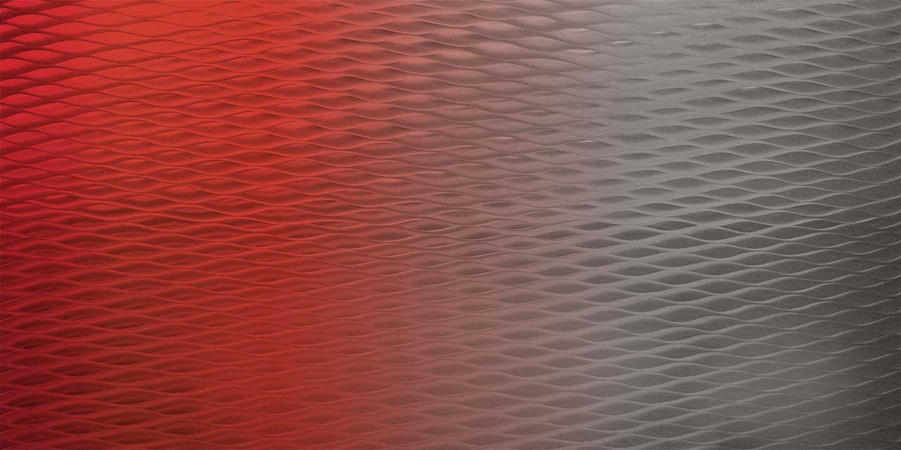 Red Pictures Metal Corrugated Ceilings