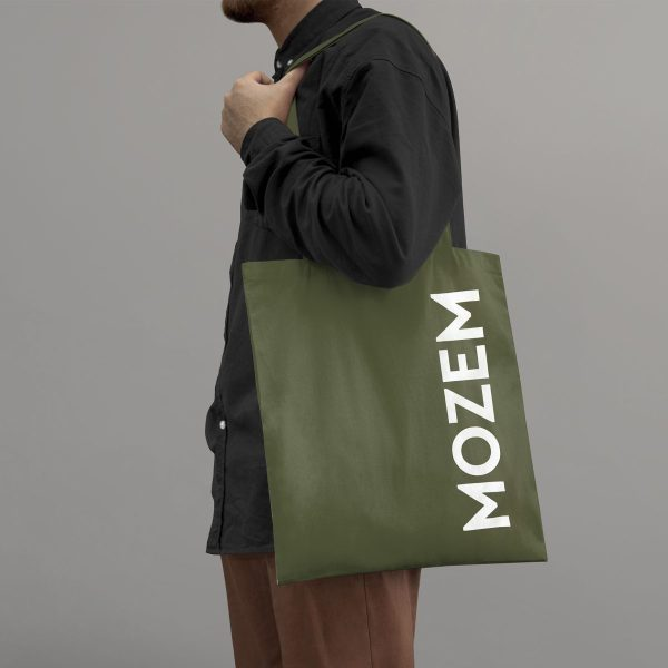 MOZEM Premium Tote Army Green