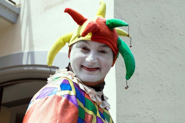 Král a klaun