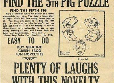 Překládací hlavolam - Spojenecká propaganda I.
