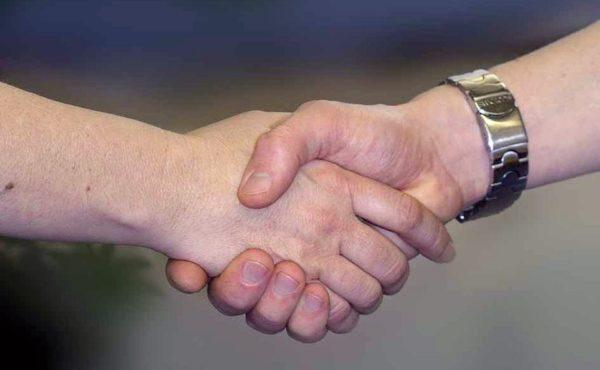 Početní hlavolam Podání rukou