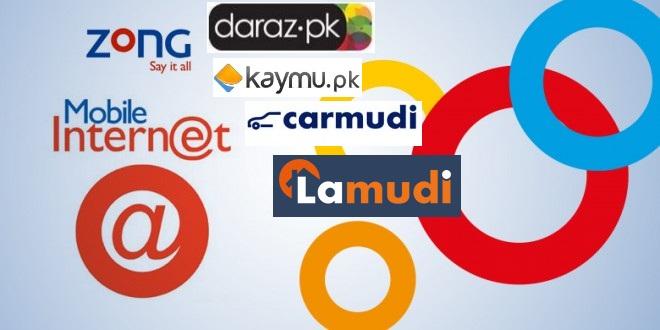 Zong Announces Free Browsing Of Pakistan's Leading E-Commerce Portals